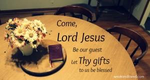 Common Table Prayer